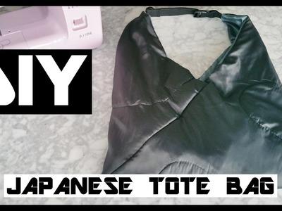 DIY japanese tote bag