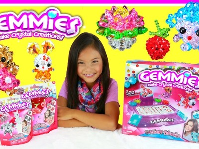 Gemmies Design Studio -  DIY Crystal Gem Creations Crafts for Kids Toys