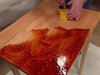 How to Finish a Wood Table