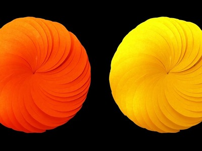 How to Make A Beautiful Paper Flower (Very easy) : HD