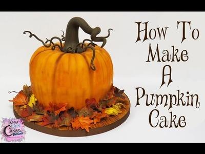 How To Make A Pumpkin Cake: The Krazy Kool Cakes Way!