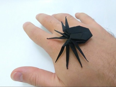 How to make: Creepy Origami Spider