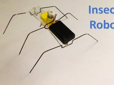 How to make six legged insect robot - DIY Robot