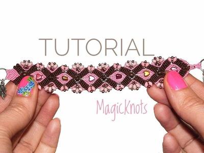 Micro Macrame Anna Bracelet DIY ♥