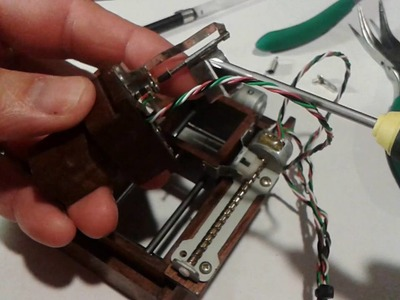 Micro Mini CNC Plotter - Part 3 - How To and Close Up Tear-Down