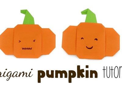 Origami Pumpkin Tutorial