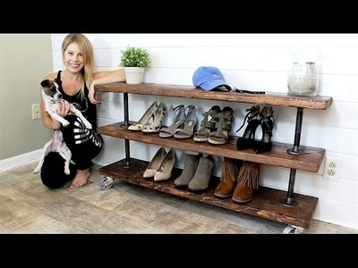 The Industrial Shelving Unit - DIY Project