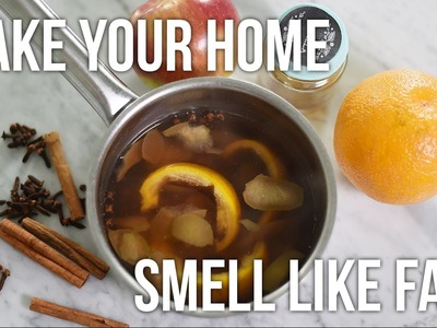 Tip Tuesday: DIY Fall and Winter Simmer Pot. Natural Home Scent