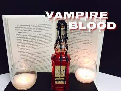 Vampire Blood : DIY Potion Bottle : Halloween Prop ( Harry Potter Inspired )