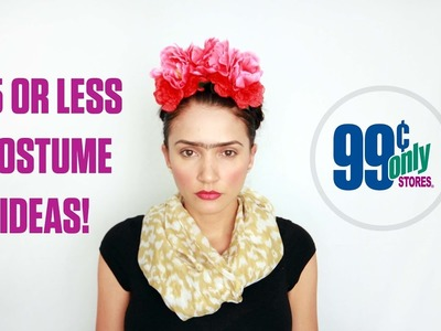 Clever DIY Halloween Costumes for $5 or less at the 99 Cents Only Stores