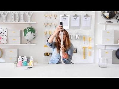 Cotton DIY | Dip Dye Napkin Ring with I Spy DIY