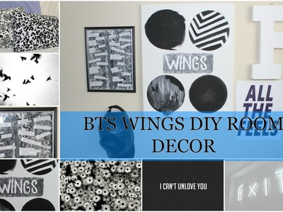 DIY BTS ROOM DECOR (WINGS EDITION)