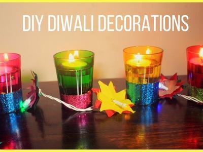 DIY   Diwali Decorations (Strictly For Kids)
