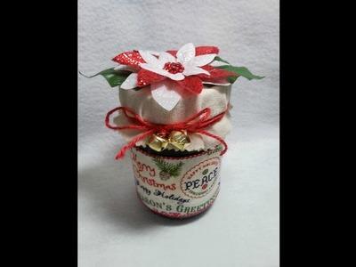 DIY~Embellish CUTE & Inexpensive Jams For Christmas Gifts!