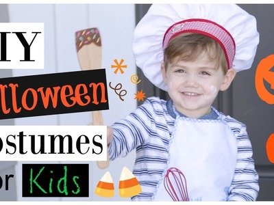 DIY Halloween Costumes for Kids (Easy, Cheap, Last Minute)