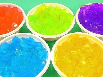 DIY How to Make Colors Big Water Jelly Surprsie Toys | Jingle Bells Christmas Nursery Rhymes Songs