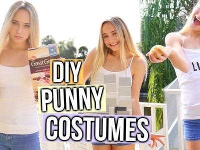 DIY Punny Last Minute Costumes!