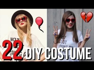 DIY Taylor Swift 22 Music Video Halloween Coutume!