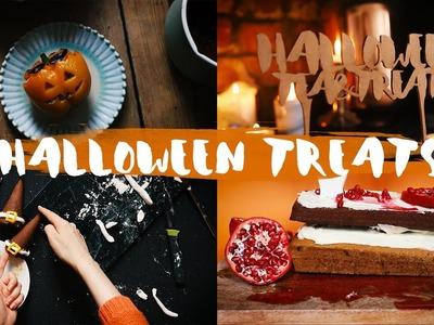 HALLOWEEN DIY: Süße Treats, Witch Hats, deftiger Snack & mehr