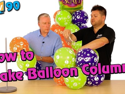 How to Make Balloon Columns: With Mark Drury from Qualatex - BMTV 90