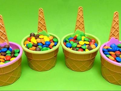 M&M's Hide & Seek Surprise Toys - Teletubbies Play-Doh DIY Molds