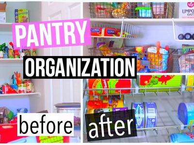 My Pantry Makeover! DIY Kitchen Pantry Organization!