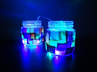 Paper Crafts(Home Decoration ideas): Decorative Festive Lights, Christmas Decor
