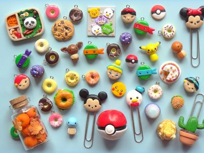 Polymer Clay Charm Update #1