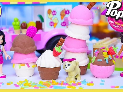 Poppit Mini DIY Icecream Lego Friends Create Silly Play - Kids Toys
