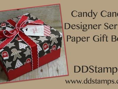 Stampin' Up! Designer Series Paper Gift Box