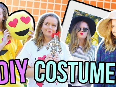 30 Last Minute DIY Halloween Costumes!