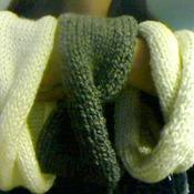 Crossed Headband knitted