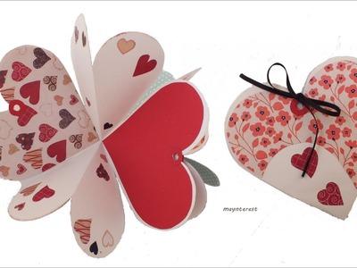 DIY Crafts: Heart CARD-ALBUM