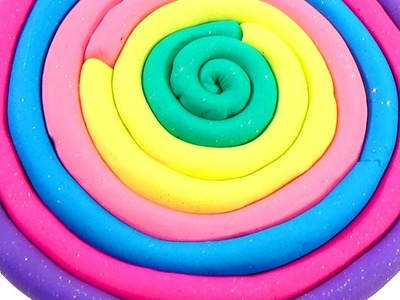DIY How To Make Play Doh PlayDoh Fun Popsicles Rainbow Learn Colors Fun And Creative Play