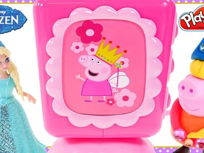 Frozen Elsa Play Toys Peppa Pig Jewels Cutting Food Peppa's Picnic Basket Playset