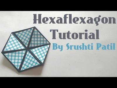 Hexaflexagon.Colour changing Hexagon Tutorial by Srushti Patil