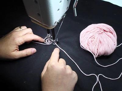 HQ Sweet Sixteen Sunday   How to use the Yarn Couching feet