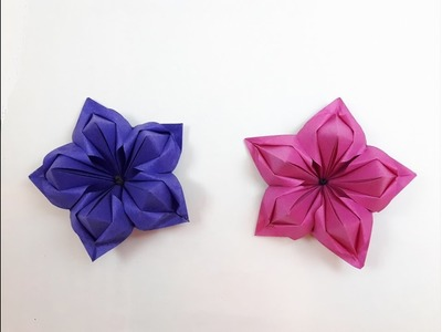 Origami Flower - Time-lapse