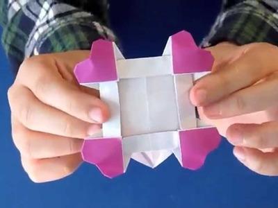 Origami Heart Frame!!