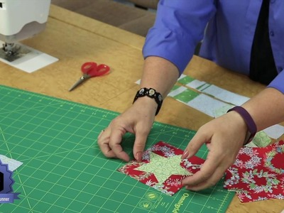 Quilting Quickly: Starlight Runner -- Christmas Quilt for your Table