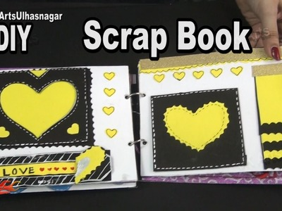 Scrapbook Tutorial | 12 Greeting cards Scrapbook | Valentine's Day Gift Idea | JK Arts 984