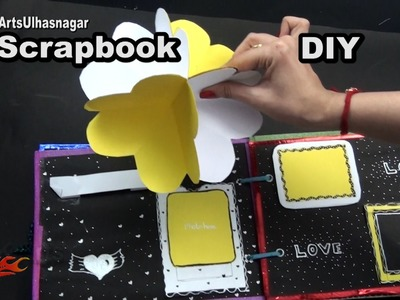 Scrapbook Tutorial | 14 Greeting cards Scrapbook | #ValentinesDay #GiftIdea | JK Arts 1047