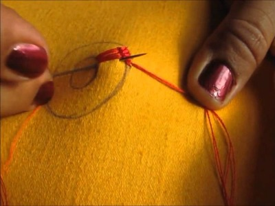 Simple embroidery designs by hand