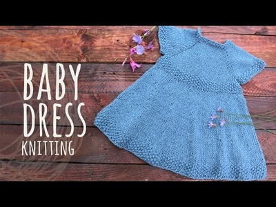 Tutorial Baby Knitting Dress