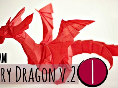 (1.5) How to make an origami Fiery Dragon v.2 (Kade Chan)