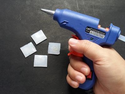 3 Ideas with hot glue gun