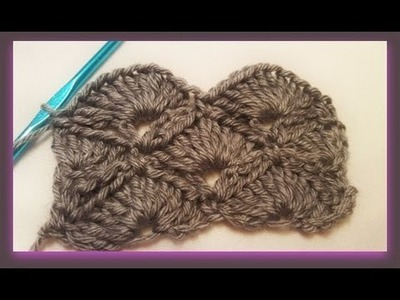 "Crocheting with ""Fans & V-Stitches"""