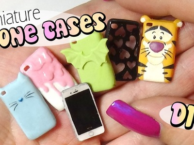 Cute & Easy Miniature Phone Case Tutorial. Doll.Dollhouse