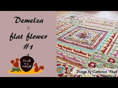 Demelza Part 2 - Flat Flower #1