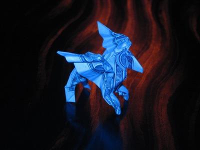 Dollar Origami: Bo Gulledge Pegasus